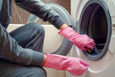 guide till att rengöra tvättmaskin